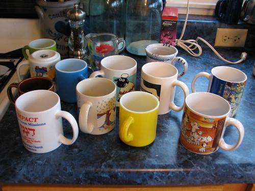 extra mugs...gotta go