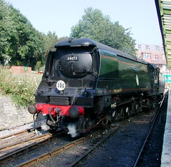 The Swanage Railway (Sou'wester) Tags: train steam locomotive preserved corfe railways swanage preservation