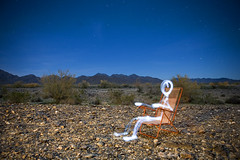 My Favorite Chair (olla podrida) Tags: light arizona chair desert paintingwithlight quartzsite ollapodrida