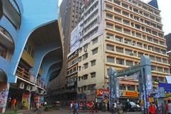 Crammed city