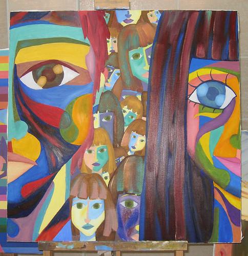 Cubist - Painting