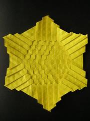 Origami Tessellations (Eagle su) Tags: paperart origami tessellations floding 摺紙