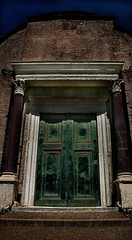 a funny thing happened in the forum (mark gorman) Tags: door rome temple ruins roman forum proudlychopped