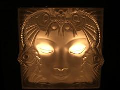 Art Deco (srw1961) Tags: light fish art glass eyes exotic mermaid sconce deco fixture lightfixture frosted lalique luminescent