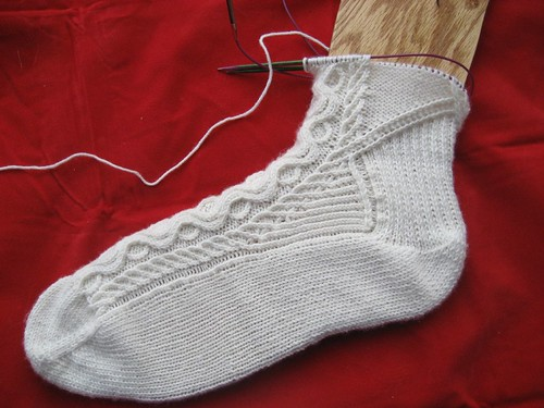 La Digitessa Sock in progress