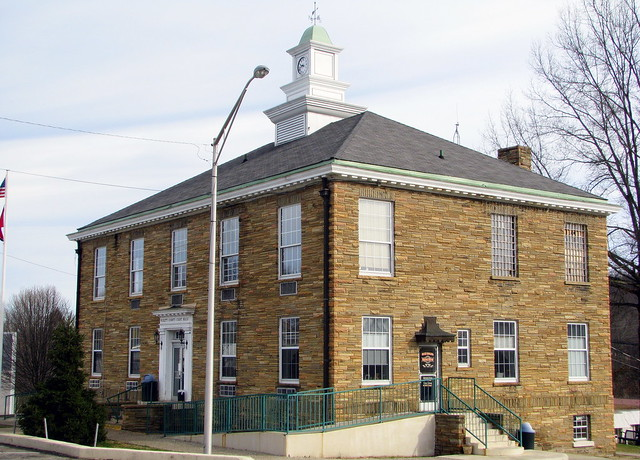 Pickett County Courthouse - Byrdstown, TN