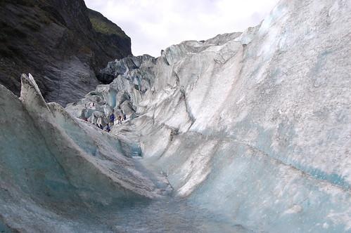Nový Zéland - Franz Josef Glacier