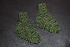 Not-quite-baby socks