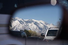 Rearview in Utah.
