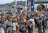 """Workin' overtime"" (iceman9294) Tags: sanfrancisco china protest police tibet embarcadero riotgear chriscoleman olympictorchrelay mywinners diamondclassphotographer iceman9294"