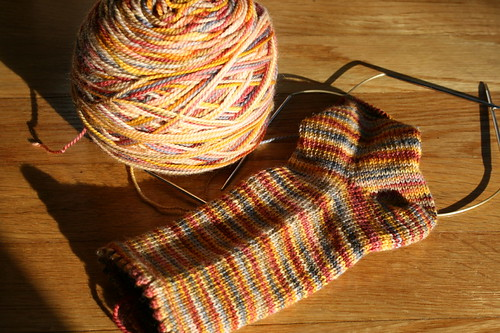 November socks - in progress