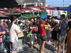 Are you ready to joint Songkran at Khaosan Road