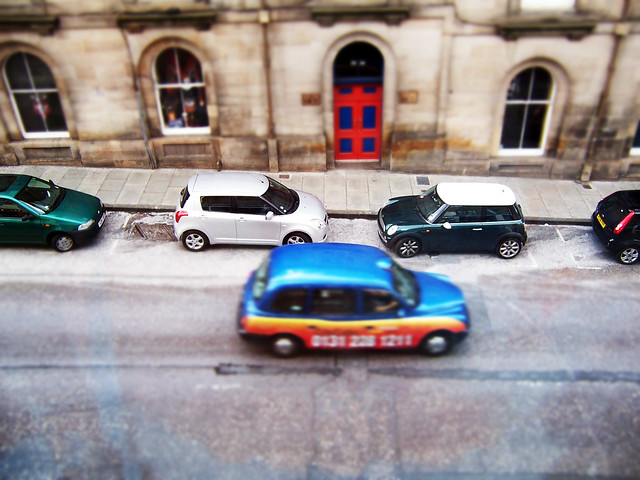 Toy Cars (Fake tilt shift)