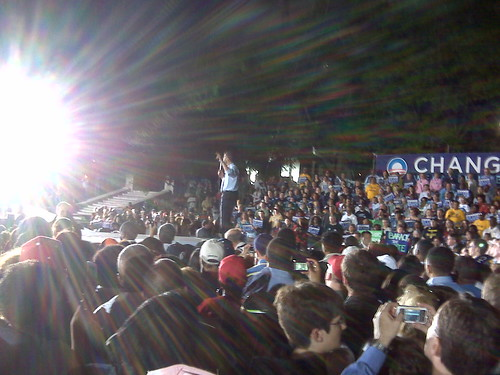 Obama Rally In Indianapolis