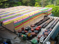 Deodonsa Lanterns and kimchi pots