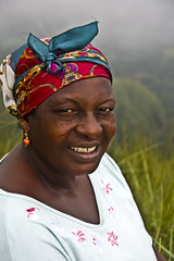 On the top of the mountain (Izla Kaya Bardavid) Tags: africa portrait people woman color smile face smiling lady photo nikon women ghana westafrica oldwoman oldpeople ctr diamondclassphotographer flickrdiamond diamondclassphotograhper