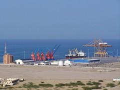 Gwadar Port, Pakistan - March 2008 (SaffyH) Tags: pakistan sea seaside marine gwadar balochistan arabianocean gwadarport earthasia mekran southernpakistan southwestpakistan futureports remembertotagearthasia