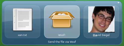 Woof plugin for GNOME Do