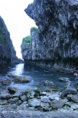 Where kings used to bathe at Niue