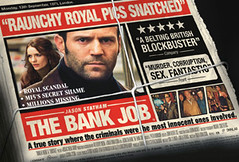"""The Bank Job"" European movie poster"
