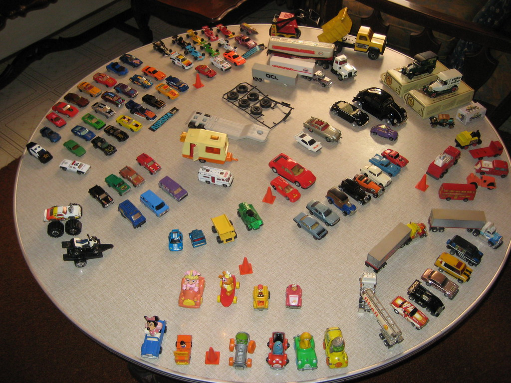 Used Toy Car Lot