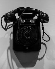 Telefon (wpt1967) Tags: canon50mm eos6d industriekultur industriemuseum osnabrück telefon bw coalmining mining museum sw telp wpt1967