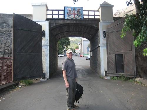 Jamestown gate
