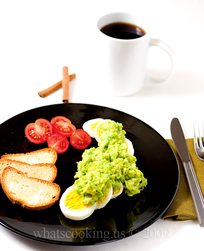Avocado Sauce Breakfast