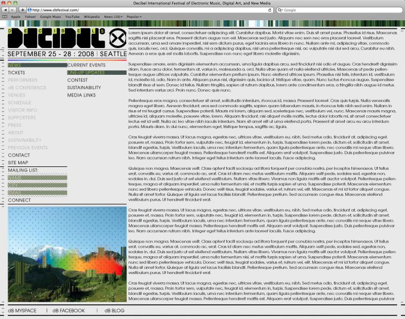dB2008 Website