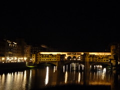 The Arno at night