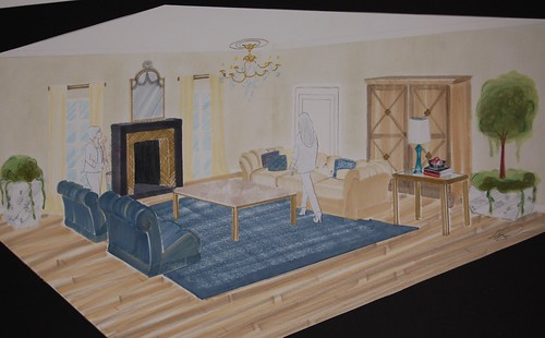 Final Project: Interior Illustration Class