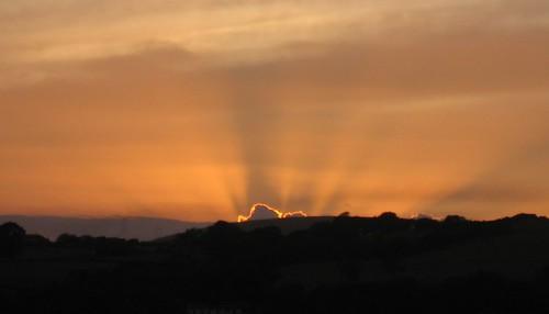 Sunset SkyBeams