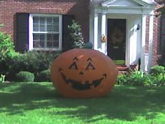 The big pumpkin has appeared