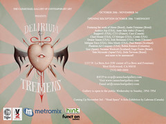 October 20th, 2007 ~ Delirium Tremens @ Carmic...