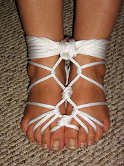 Harness_on_Feet (edgejunkie) Tags: bondage bdsm ropebondage