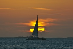 Catamaran sunset II (onwatersedge) Tags: sunset catamaran keywest abigfave theunforgettablepictures