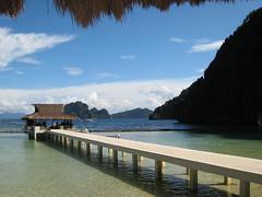 the landing at miniloc island (visible) Tags: philippines elnido palawan miniloc