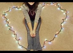 (Emma Neely) Tags: christmas 3 love smile carpet lights heart you no teeth pearls multicolored cardigan ermmm dahhhling iiiii nothingpersonal iprobablydont imreallybadattagging