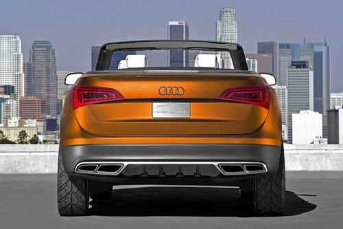 Audi Wire Frame Cross Cabriolet Quattro Concept Car