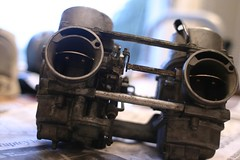 Carburetors by bovinity, on Flickr