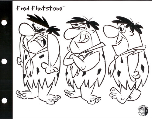 This Flintstones style guide was one of the last projects I oversaw as the ...