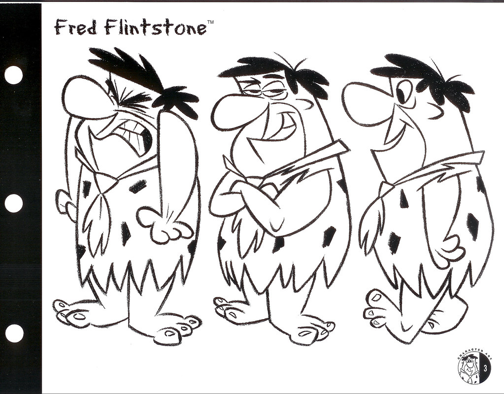 Fred Flintstone art