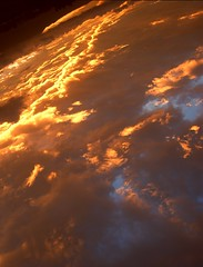 Our planet. (Jos Maldonado) Tags: sunset sun sol clouds atardecer earth guatemala nubes planeta awesomeafterglow