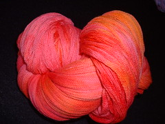 2008-01-05 Stash 015 (oceanknitter) Tags: orange wool rose lace peach merino heirloom espresso multi inspirations