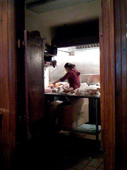 in the kitchen at primanti bros