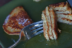 WG Pancakes cut