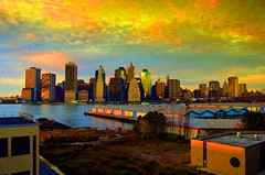 (juanmotai) Tags: ny art brooklyn photoshop artistic manhatten