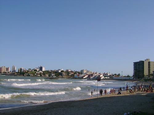 Praia do balneário de Guaraparí- Espírito Santo- Brasil by dinaxme71.