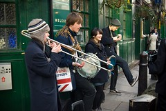 Borough Market Hipster Band