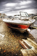 a Place to Retire (Khaled A.K) Tags: sea water clouds marina boat marine cloudy stones jeddah saudiarabia khaled hdr marsa lightroom  photomatix       5xp     betterthangood alandalusmarina